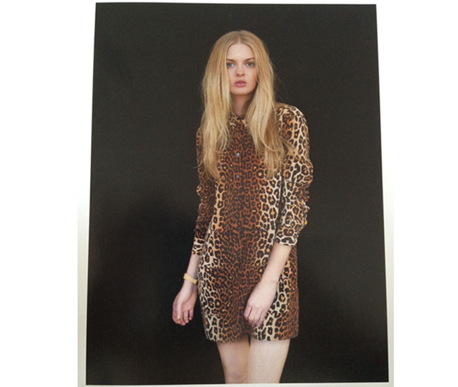 Equipment Leopard shirt